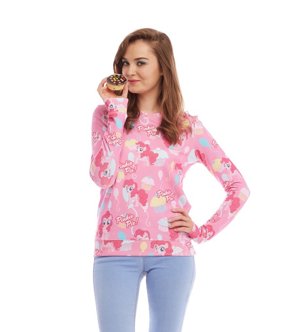 All about Pinkie Pie womens sweater Miniature 2