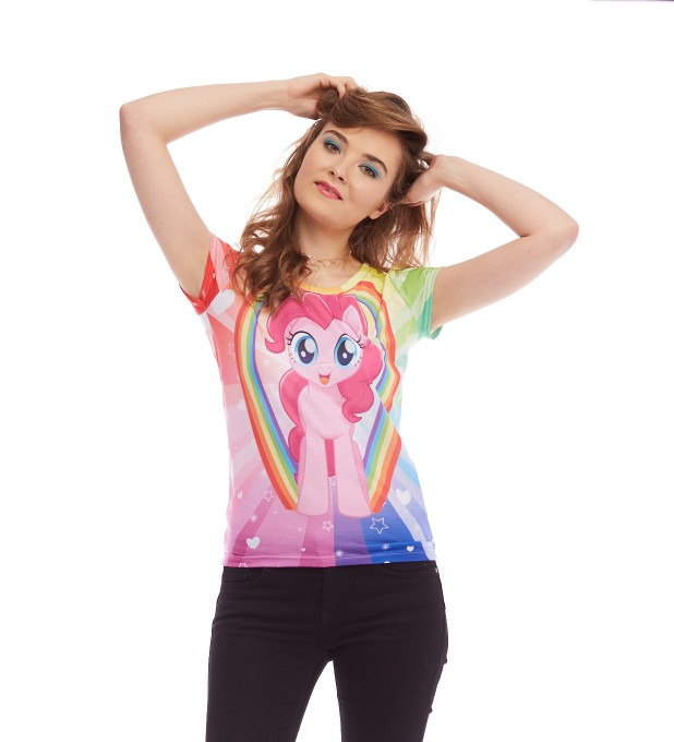 Pinkie Pie Love womens t-shirt аватар 2