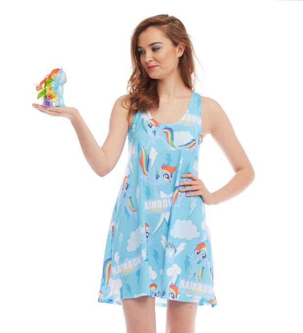 All about Rainbow Dash minidress аватар 2