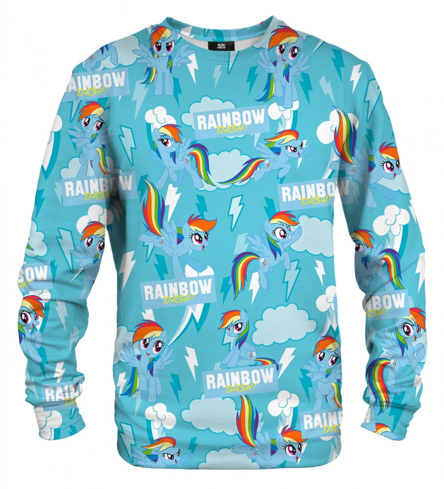 Mr. Gugu & Miss Go, All about Rainbow Dash sweater Immagine $i