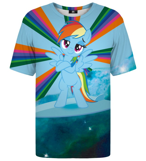 Rainbow Surfer t-shirt Miniatura 1