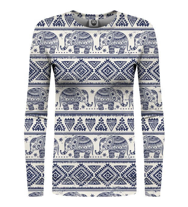 Elephants Pattern womens sweater  аватар 1