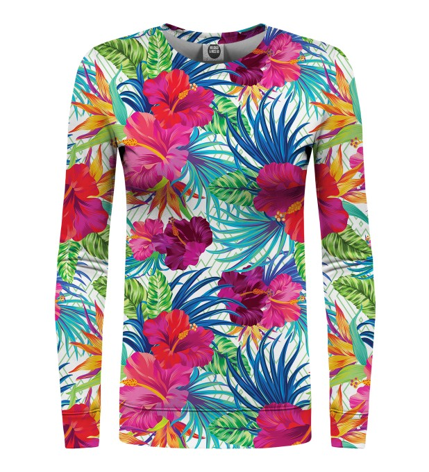 Jungle Flowers womens sweater Miniature 1