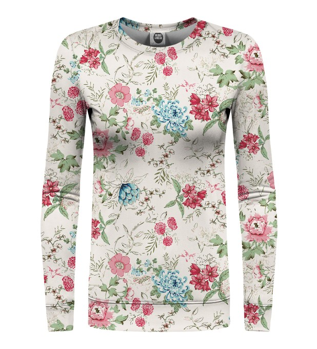 Flowers Sketch womens sweatshirt Miniaturbild 1