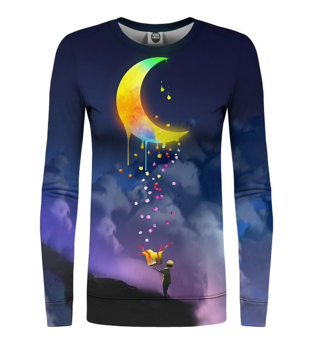 Gifts from the Moon womens sweatshirt Miniaturbild 1