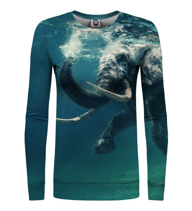 Water Elephant womens sweater Miniatura 1