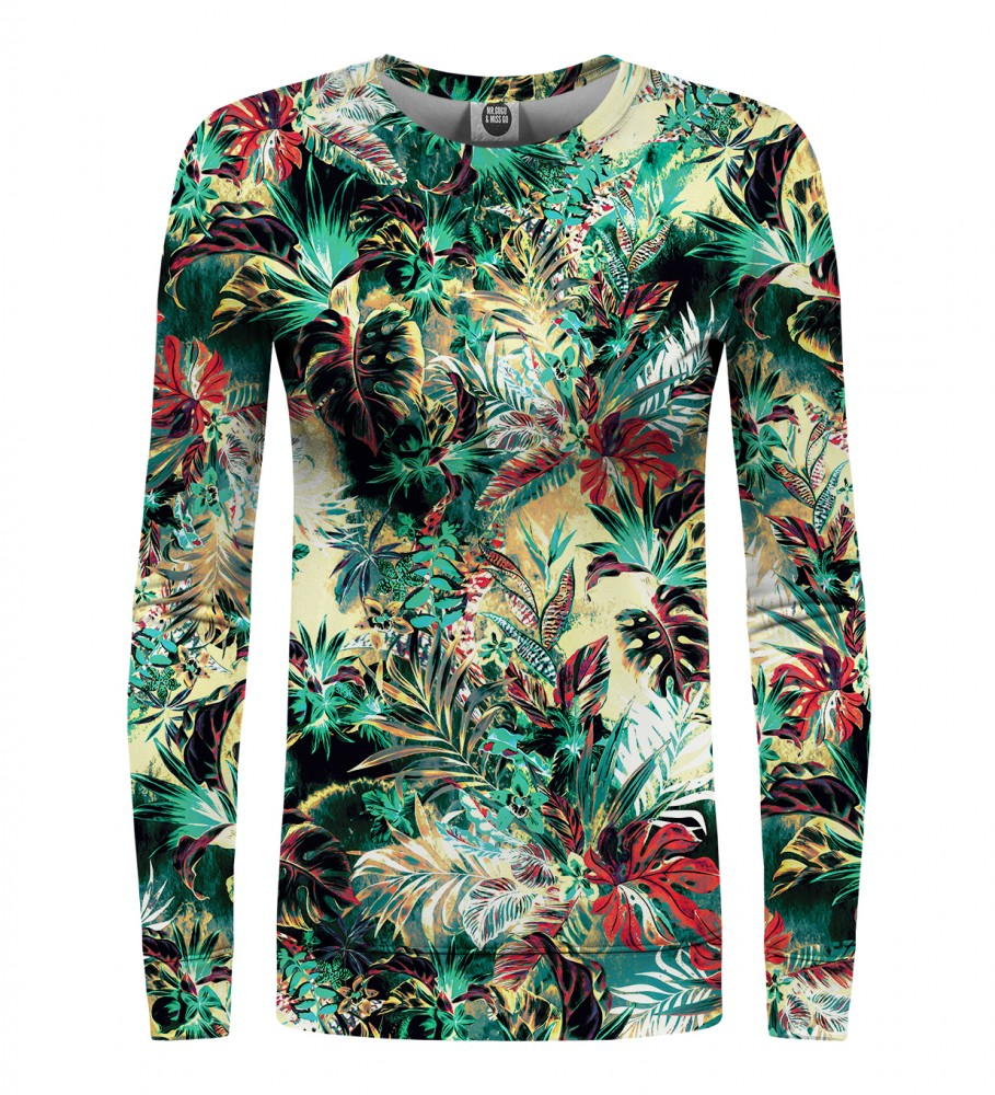 Mr. Gugu & Miss Go, Tropical Jungle womens sweater Image $i