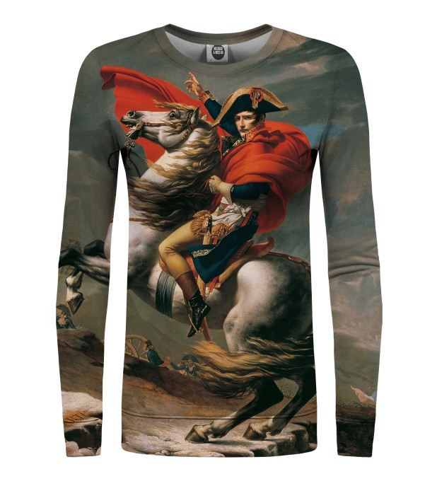 Napoleon Crossing the Alps womens sweatshirt Miniaturbild 1