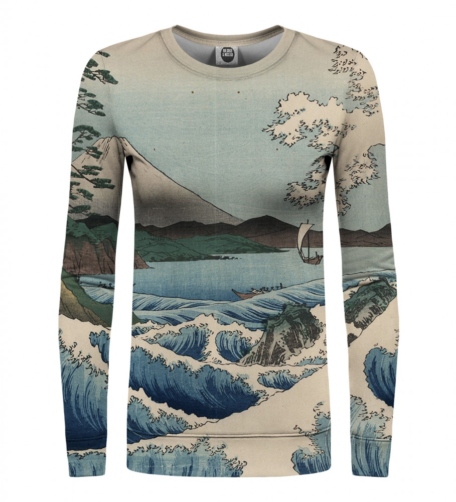 Mr. Gugu & Miss Go, The Sea of Satta womens sweater Imagen $i