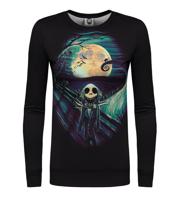 Skellington womens sweatshirt Miniaturbild 1