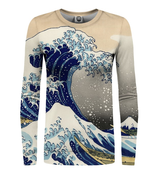 Kanagawa Wave womens sweater Miniature 1
