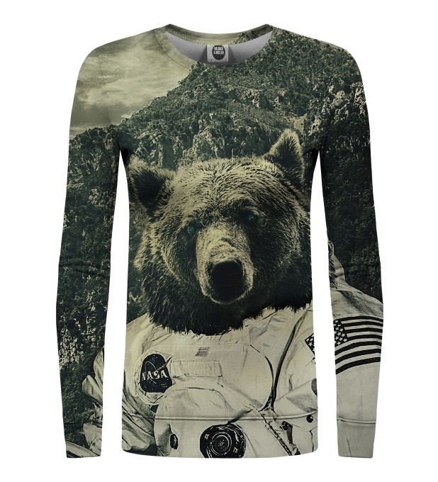 NASA bear womens sweater Miniature 1