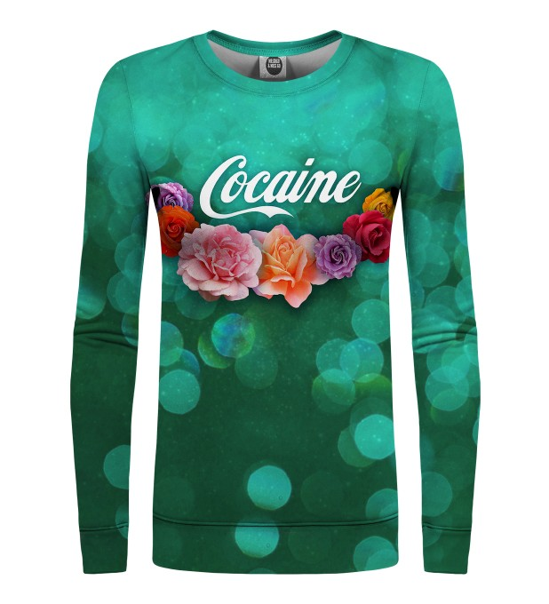 Cocaine womens sweater Thumbnail 1