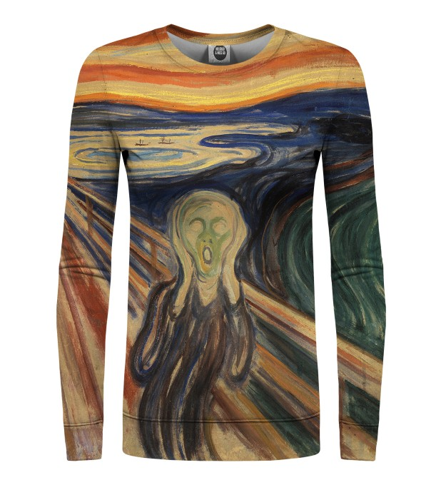 The Scream womens sweatshirt Miniaturbild 1