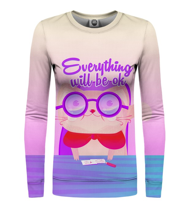 Everything will be ok womens sweater Miniature 1