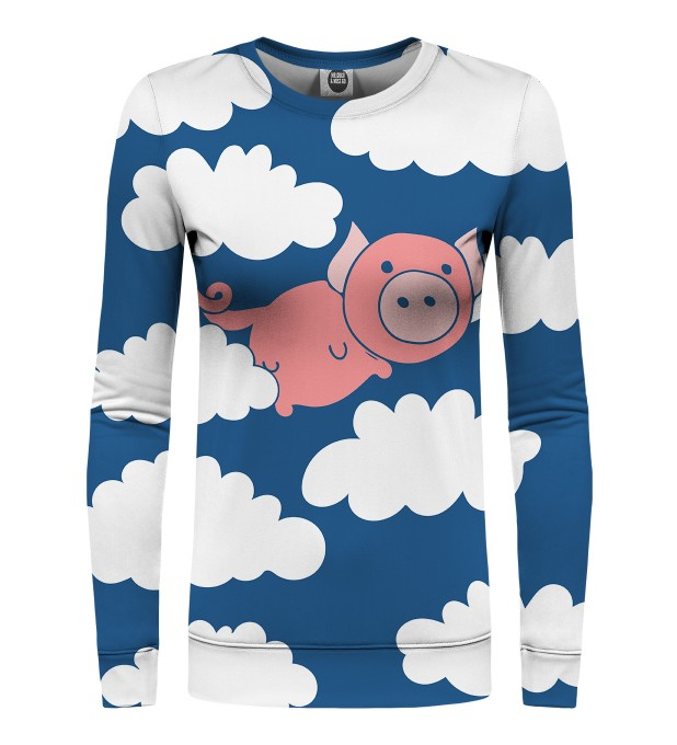 Flying Pigs womens sweatshirt Miniaturbild 1