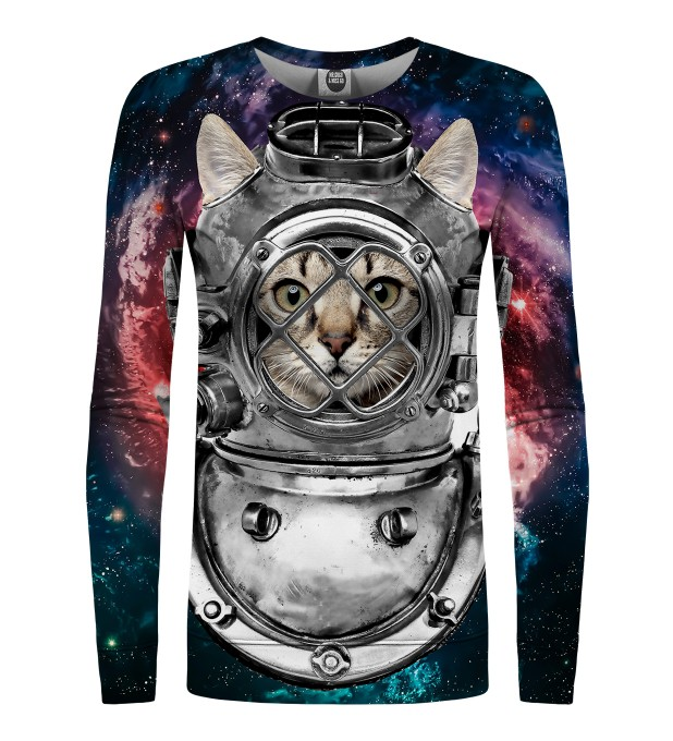 Astronaut cat womens sweater Miniature 1