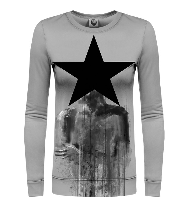 Black Star womens sweatshirt Miniaturbild 1