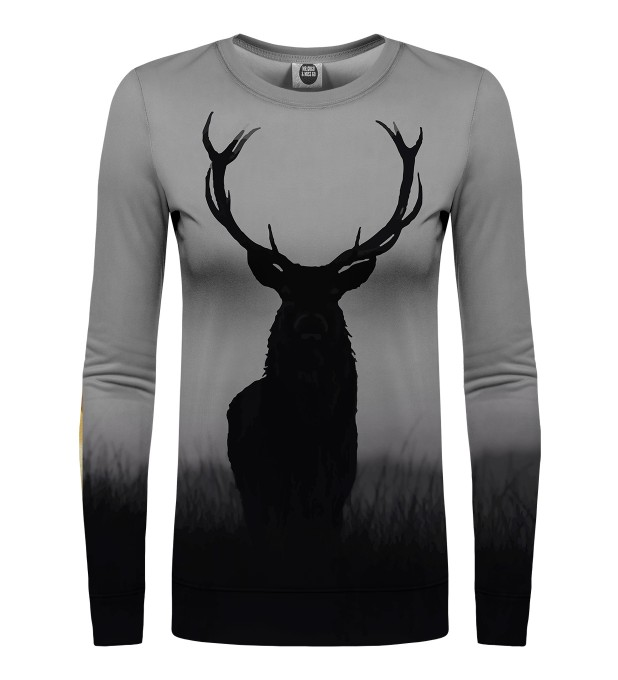 Wild deer womens sweater Miniature 1