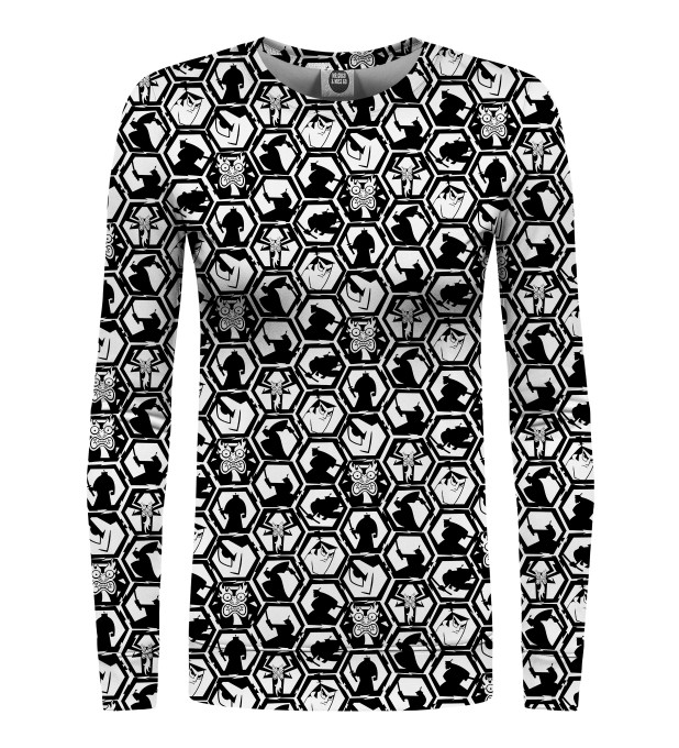 B&W Pattern womens sweater Thumbnail 1