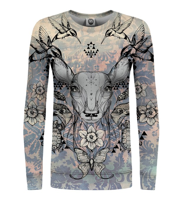 Deer Colage womens sweater аватар 1