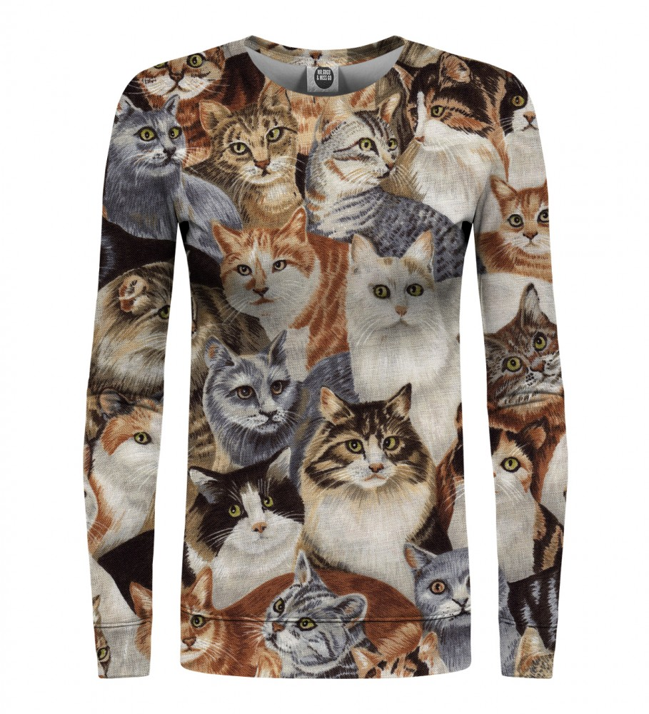 Mr. Gugu & Miss Go, Cats womens sweater Image $i