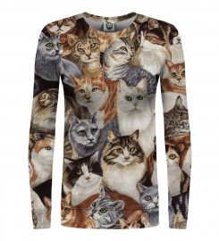 Mr. Gugu & Miss Go, Cats womens sweater Thumbnail $i