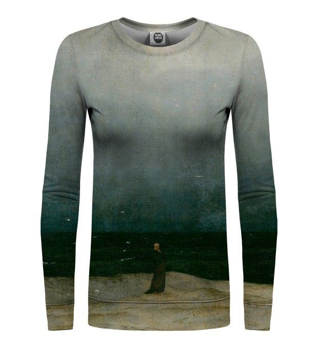 Monk by the Sea womens sweater Miniatura 1