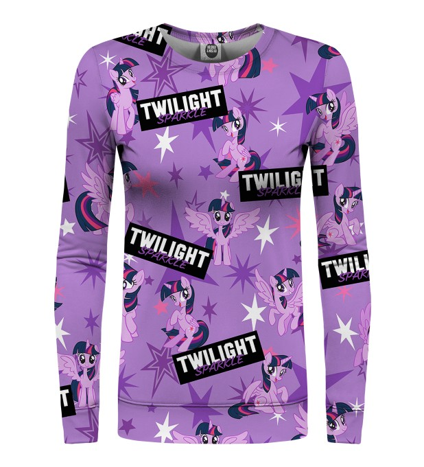 All about Twilight Sparkle womens sweater Miniature 1