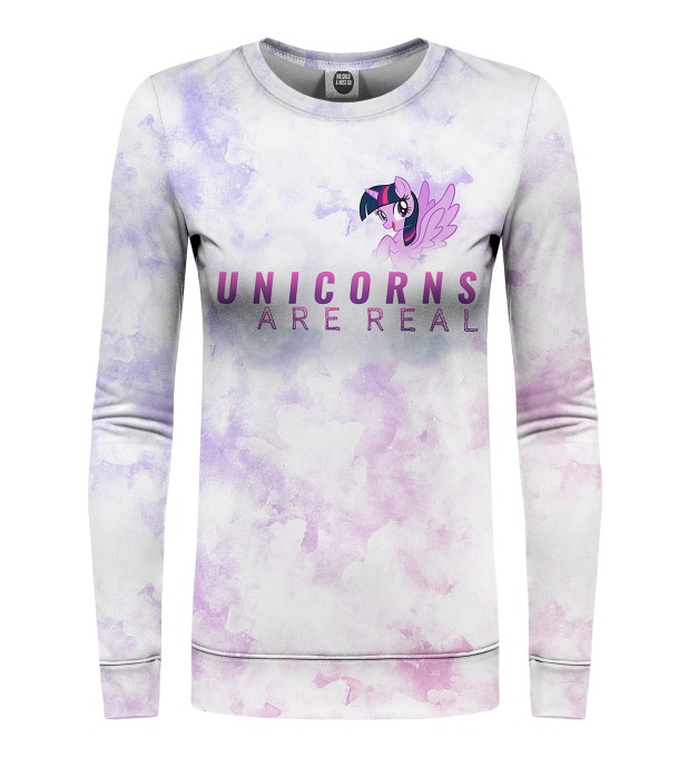 Unicorns are Real womens sweater аватар 1