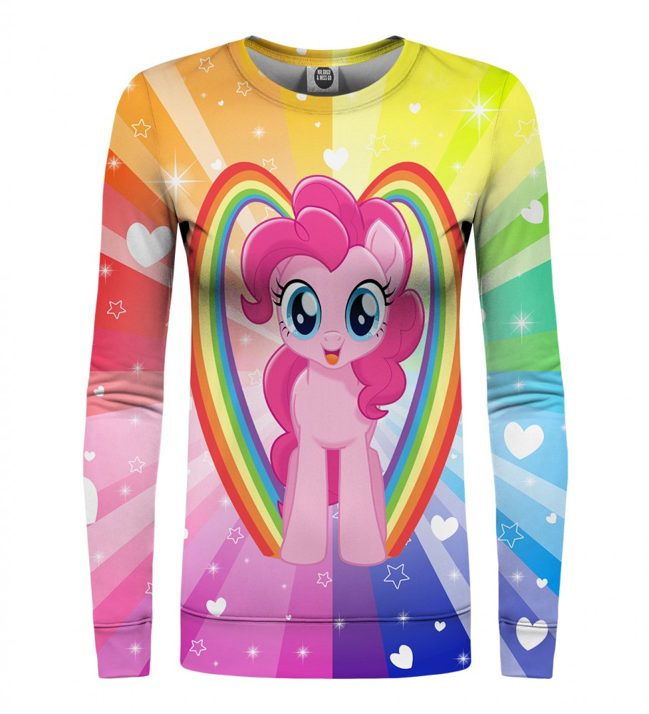 pinkie pie love womens sweater mr gugu miss go