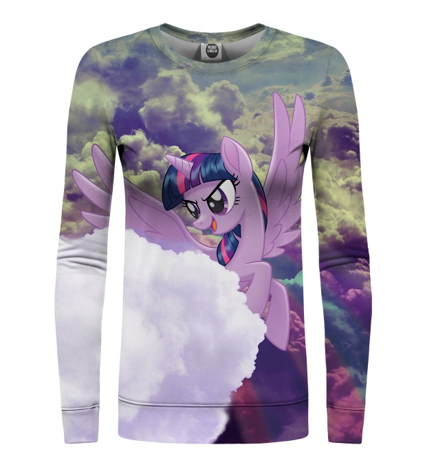 Flying Twilight Sparkle womens sweater Miniatura 1