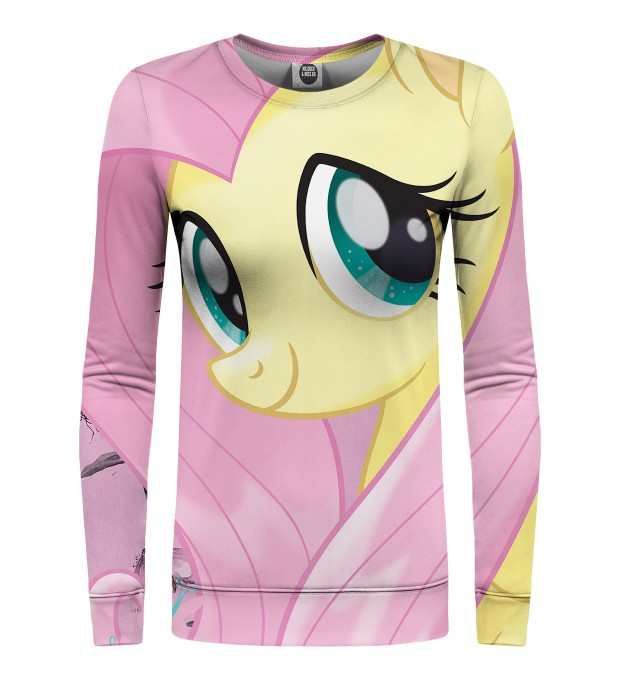 Fluttershy and Butterflies womens sweater Miniature 1