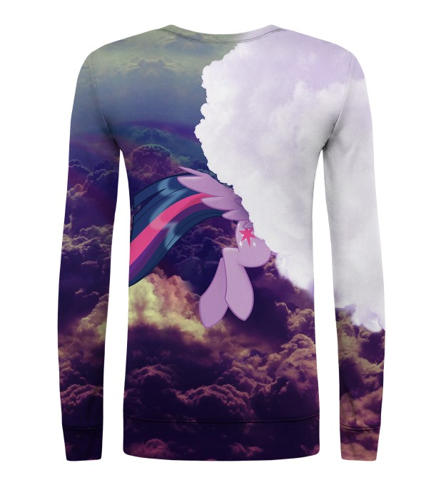 Flying Twilight Sparkle womens sweater Miniature 2