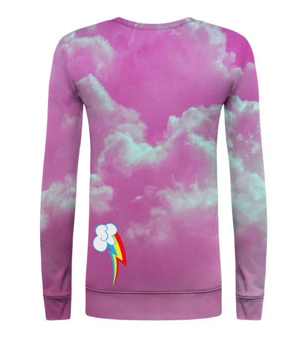 Rainbow in the Sky womens sweater Miniature 2