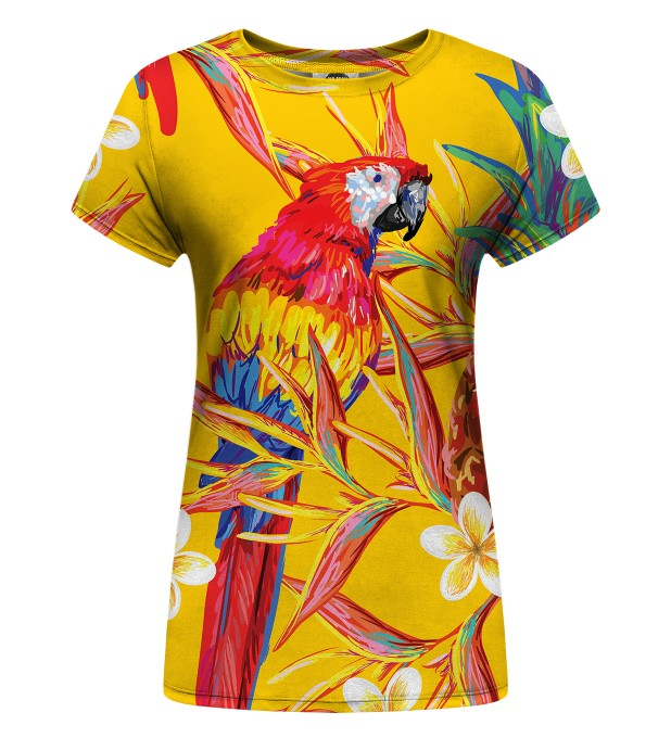 Paradise parrots Womens t-shirt аватар 1