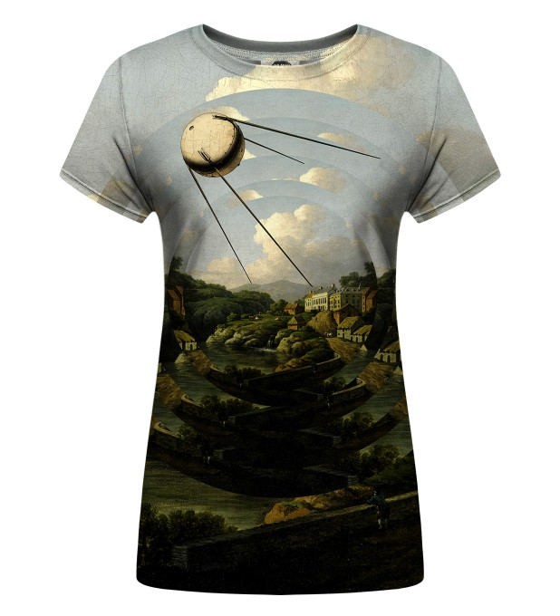 Sputnik City Womens t-shirt Thumbnail 1