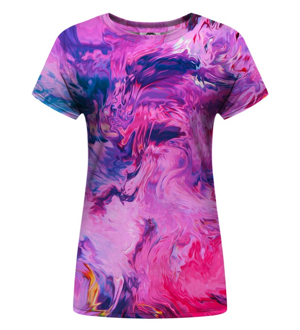 Modern Painting Womens T-Shirt Thumbnail 1
