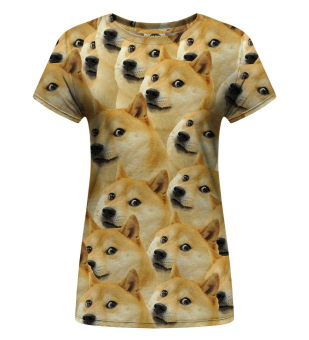 Doge Womens t-shirt аватар 1