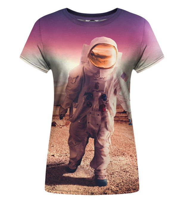 T-shirt damski First in Space Miniatury 1