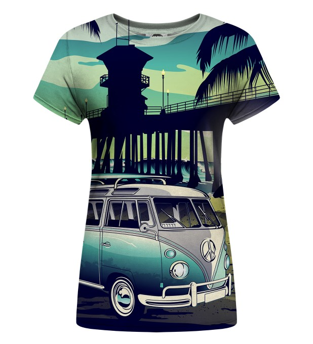 California Life Womens t-shirt Miniature 1