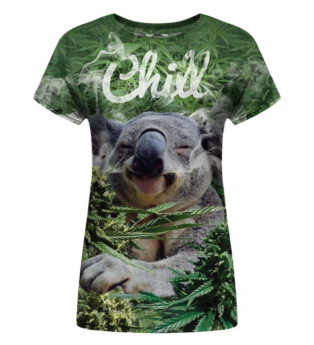 Koala Chill Womens t-shirt Thumbnail 1