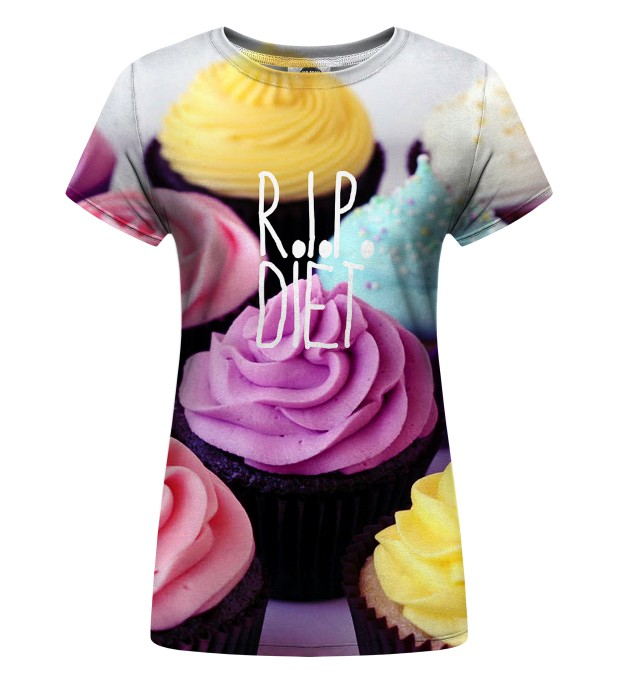 RIP Diet Womens t-shirt Miniatura 1