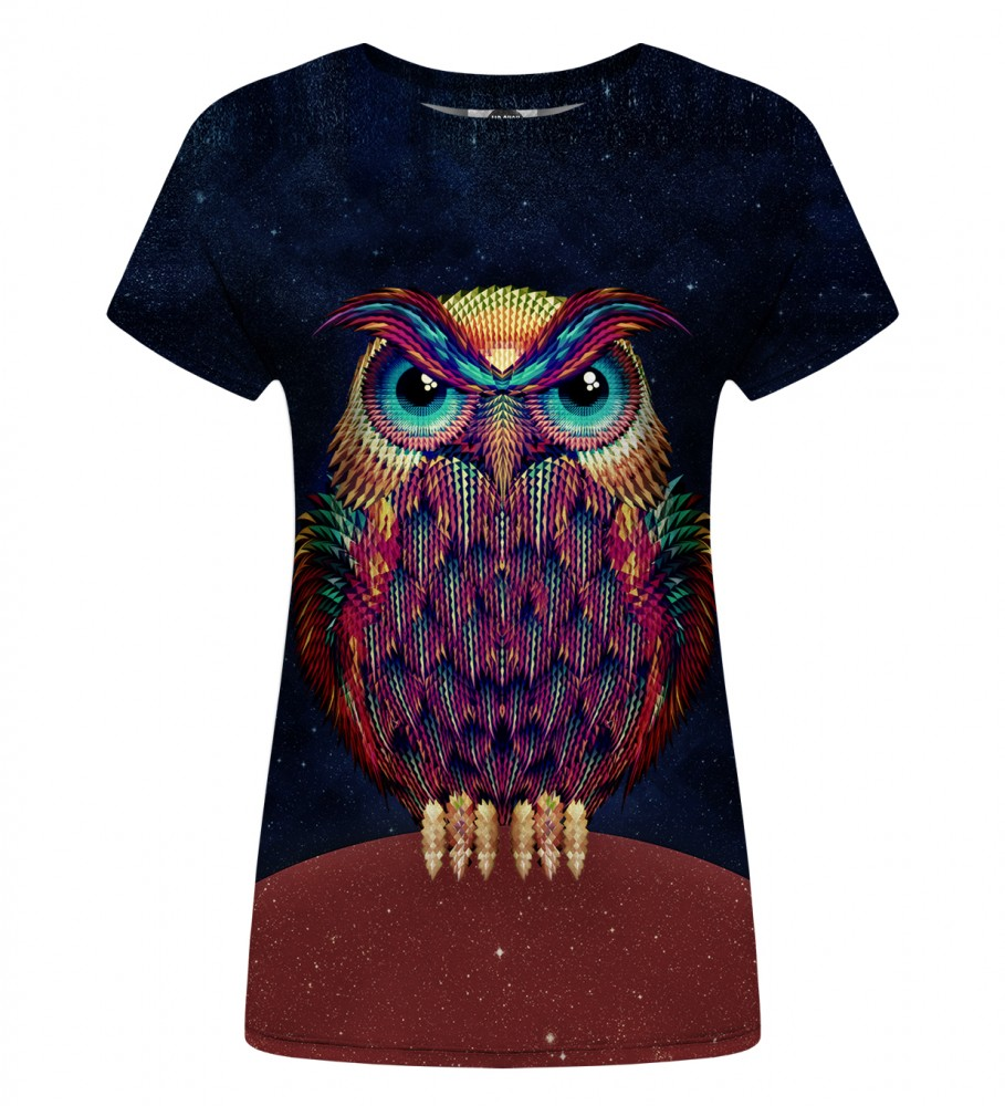 Mr. Gugu & Miss Go, Space Owl Womens t-shirt Foto $i
