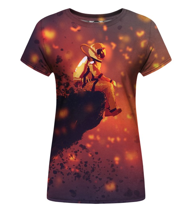 Volcano Astronaut Womens t-shirt аватар 1