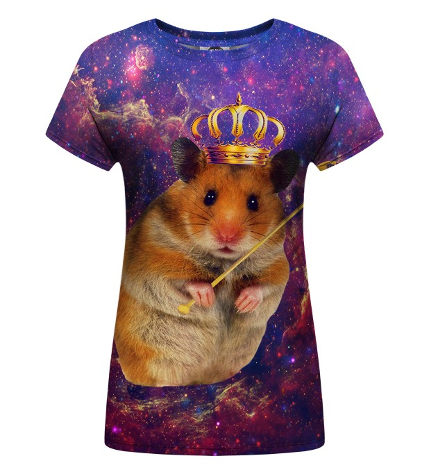 King hamster Womens t-shirt Miniatura 1