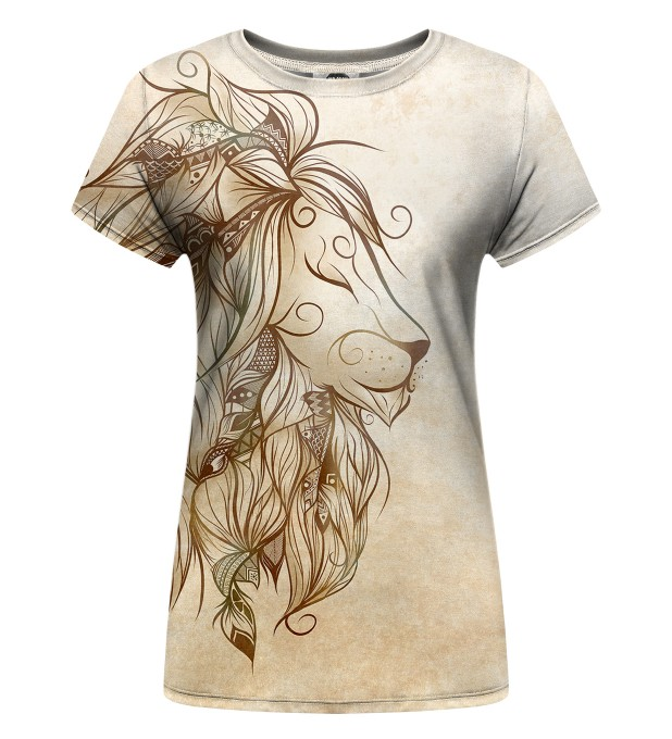 Golden Lion Womens t-shirt Thumbnail 1