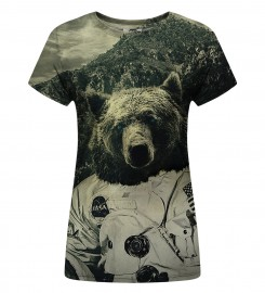 Mr. Gugu & Miss Go, T-shirt damski Nasa Bear Miniatury $i