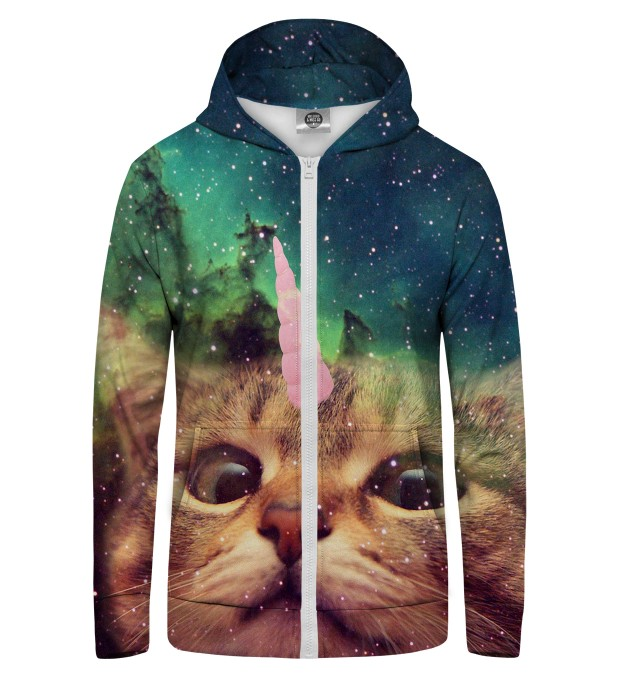 Unicat Zip Up Hoodie Thumbnail 1