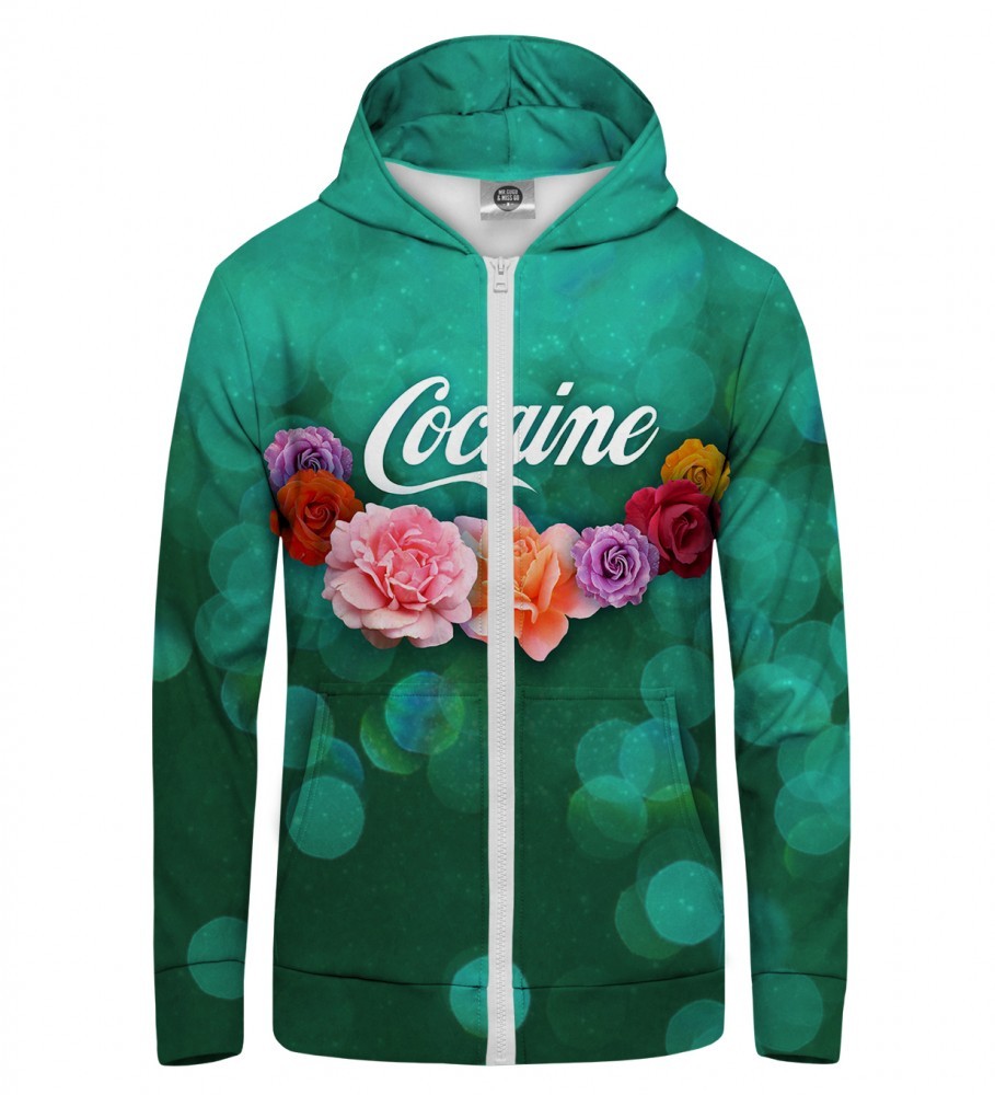 Mr. Gugu & Miss Go, Cocaine Zip Up Hoodie Image $i
